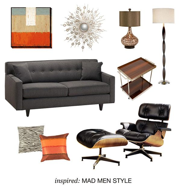 Get Inspired By The Mad Men Series With A Collection Of Items Perfect For