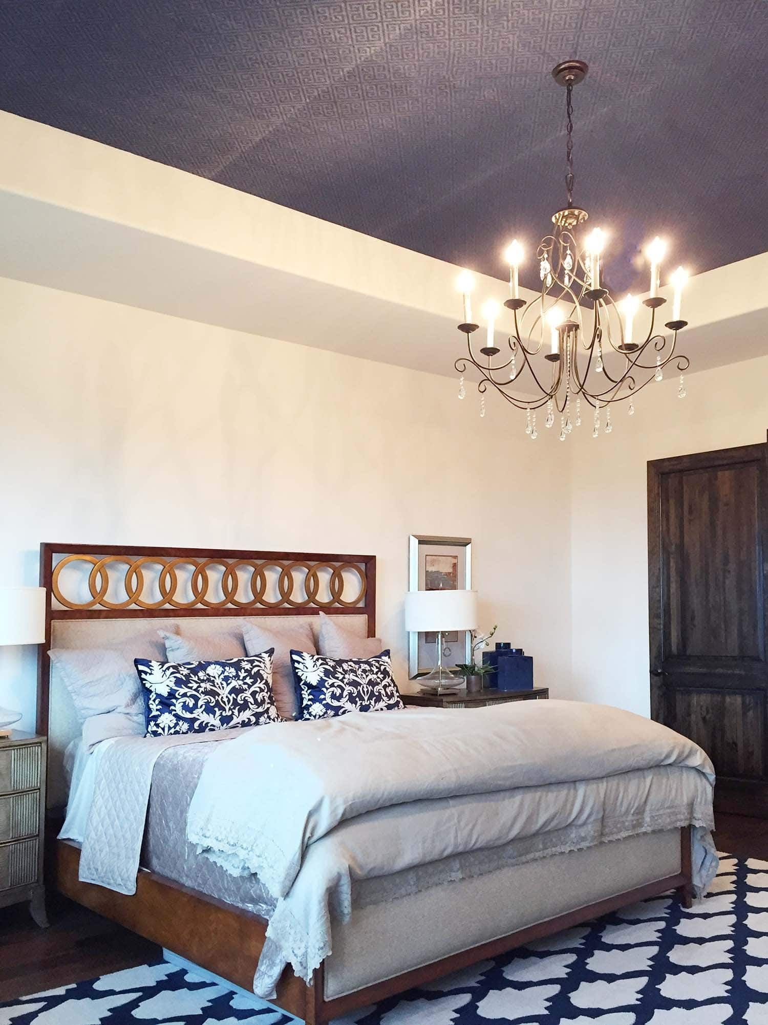 Accent Wall Do S And Dont S Paper Moon Painting Accent Wall Master Bedroom Wallpaper Accent Wall Accent Wall Bedroom