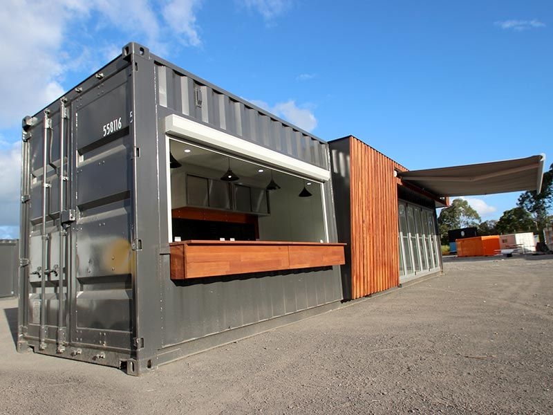 40ft Shipping Container >> 40ft Shipping Container Cafe Special Project Deli Rest