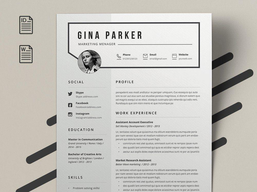 Resume Gina Resume templates, Resume, Templates