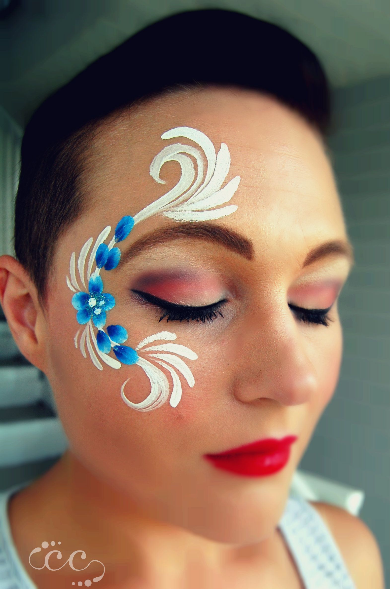Pin On Chubby Cheeks Face And Body Art Faces