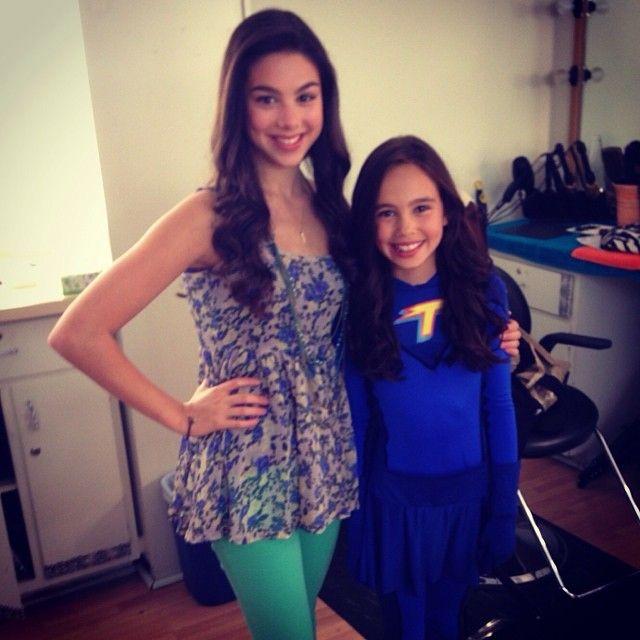Kira Kosarin With Reagan Fernandez Aka Young Phoebe