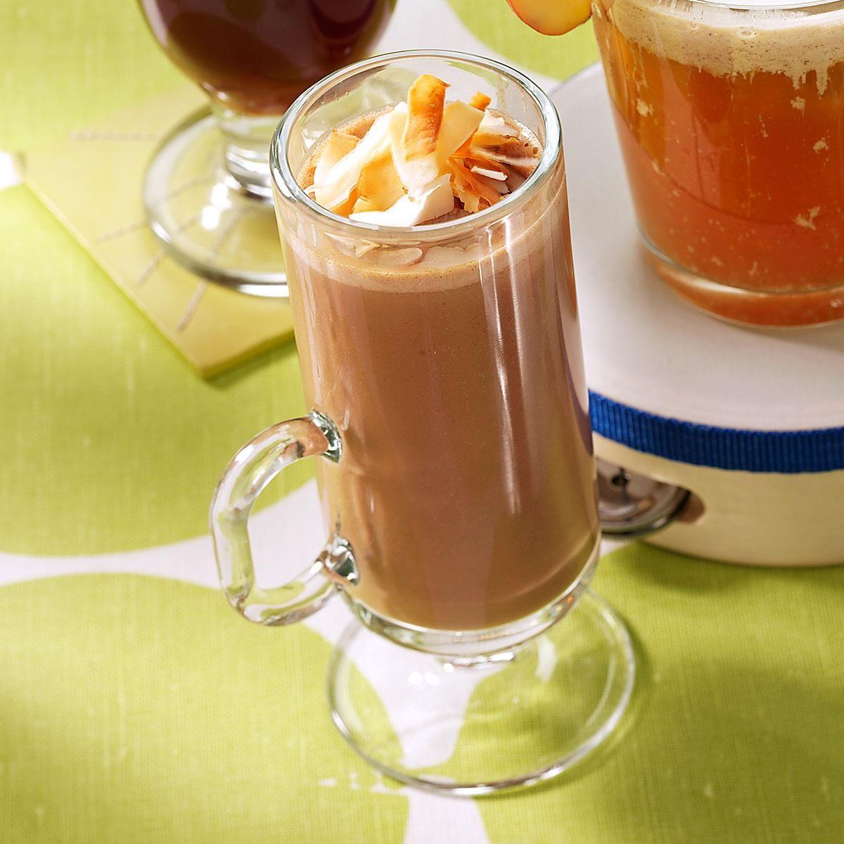 Coconut-Caramel Hot Cocoa