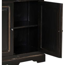 Photo of Display cabinet in black shabby chic furniture Exclusive