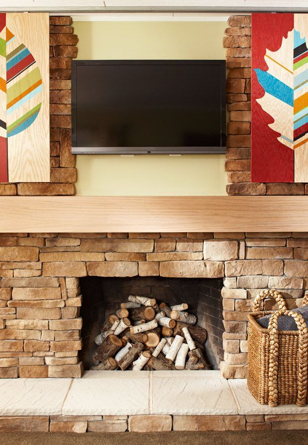 Hide Your TV! - DIY Projects TVs, Small spaces and Decorating