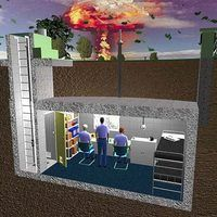 How To Build An Underground Bunker Ehow Underground Shelter Underground Bunker Survival Shelter