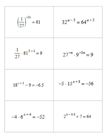 maths speed dating