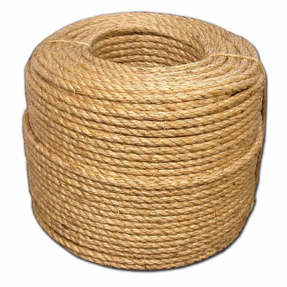 T W Evans Cordage 1 4 In X 1200 Ft Premium Grade 1 Manila Rope 24 001 Manila Rope Manila Things To Sell