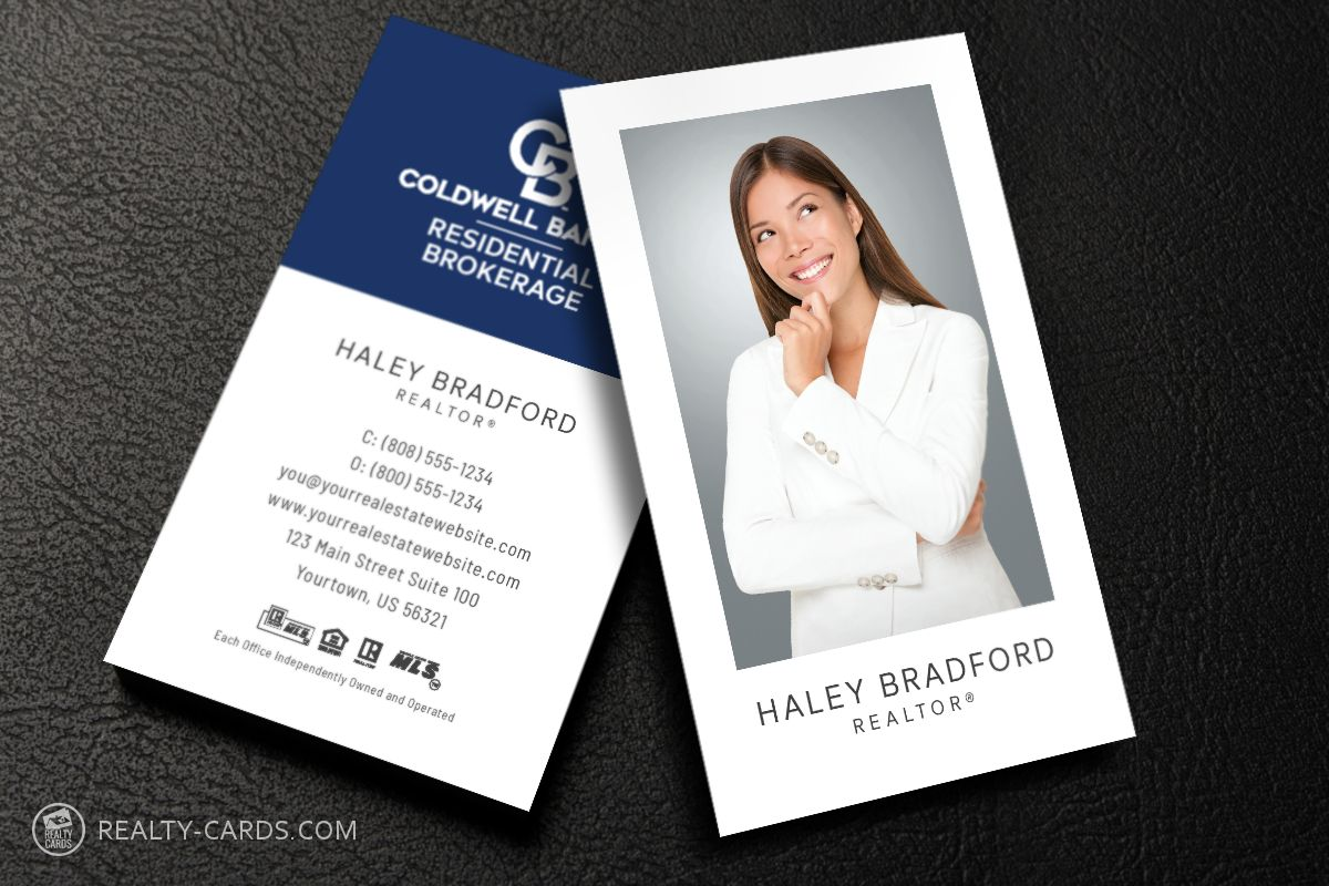 The Charming Coldwell Banker Business Cards Business Cards In 2019 Inside Coldwel Realtor Business Cards Real Estate Business Cards Restaurant Business Cards