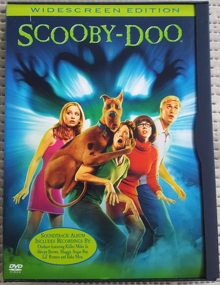 SCOOBY DOO, 2002 DVD, ADVENUTURE, FAMILY, GOOD, 25% OFF 2+