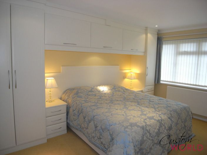 Overhead bedroom furniture Inbuilt Fitted Wardrobes With Overhead Cupboards Which Create Great Additional Space And Are Still Very Popular Mama Fitted Wardrobes Fitted Wardrobe Design Pinterest Fitted Wardrobes With Overhead Cupboards Which Create Great