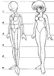 Resultado De Imagem Para Desenho Manga Corpo Feminino Desenhando