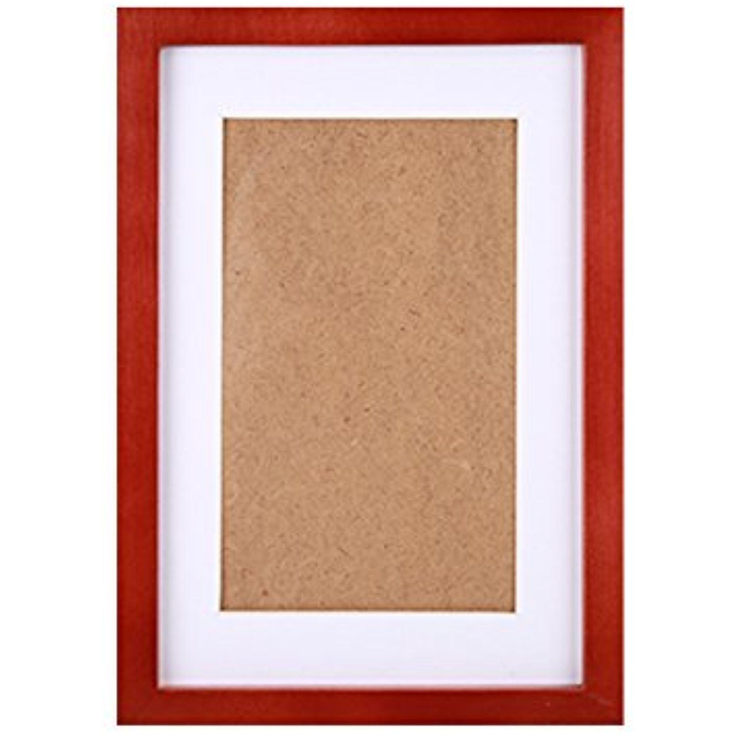 Fastnova 12x15 Inch Cherry Red Wood Picture Frames Made To Display Picture 8x12 With Mat Or 11x14 Without Mat Picture On Wood Picture Mounting Picture Display