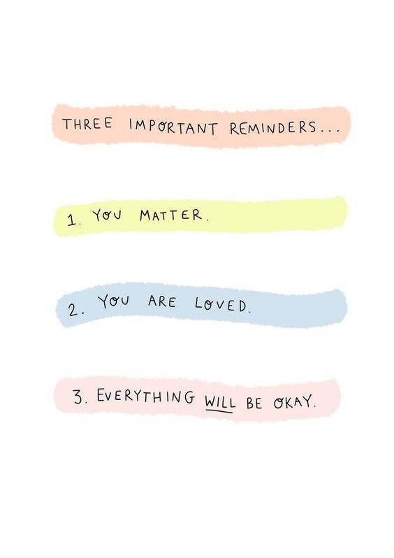 Self-care Reminders for Your Phone Background. #styleseat