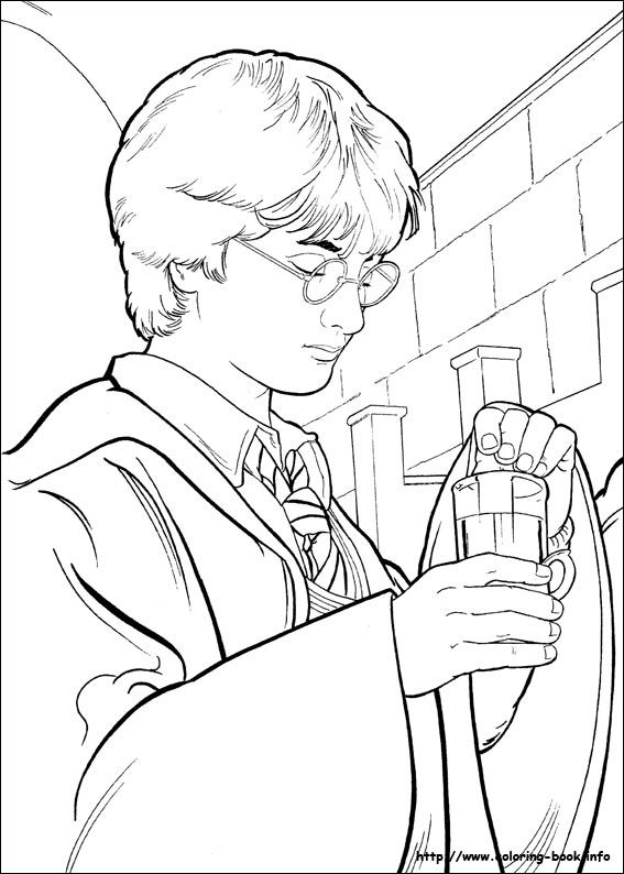 Harry Potter Coloring Page Harry Potter Coloring Pages Harry Potter Colors Harry Potter Portraits