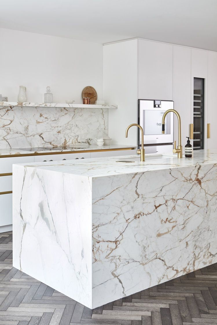 Marble Kitchen Island Ideas That Will Have You Dreaming of the Luxe Life   Hunker