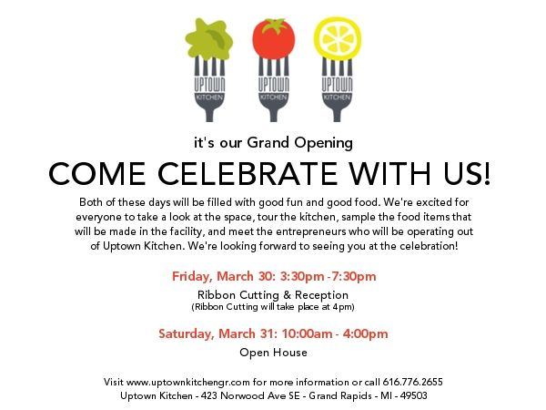 Grand opening uptown kitchen food invitations pinterest grand opening uptown kitchen altavistaventures Images