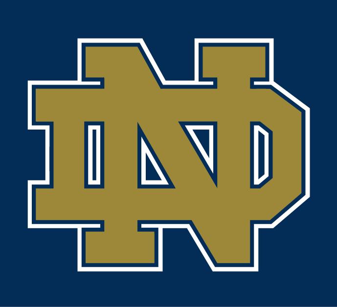 Notre Dame Fighting Irish Alternate Logo Ncaa Division I N R Notre Dame Fighting Irish Notre Dame Logo Fighting Irish