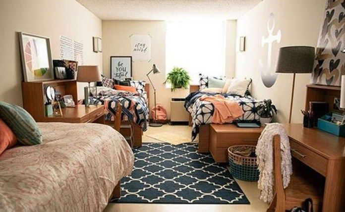 How To Organize Your Dorm When You Live In A Triple - Society19