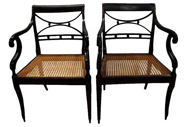Early-20th-C.  Armchairs, Pair on OneKingsLane.com $1399