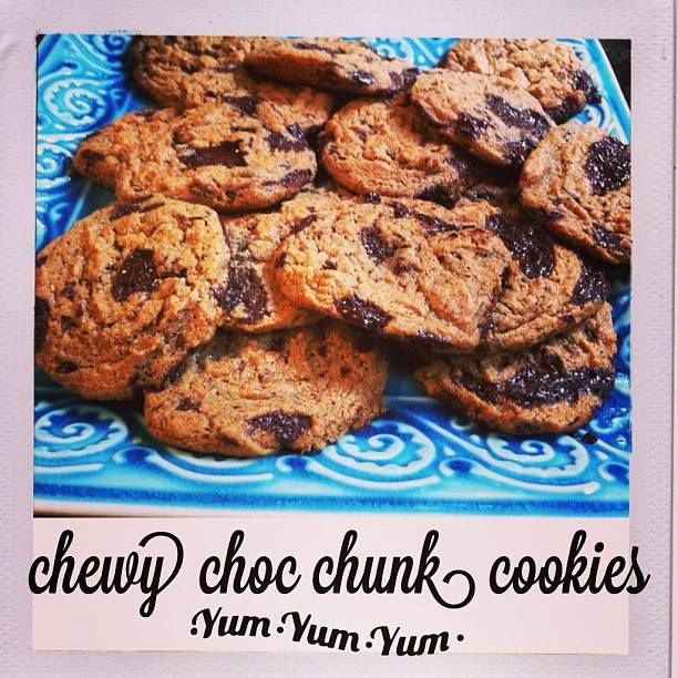 Chewy Chocolate Chunk Cookies Justeatrealfood