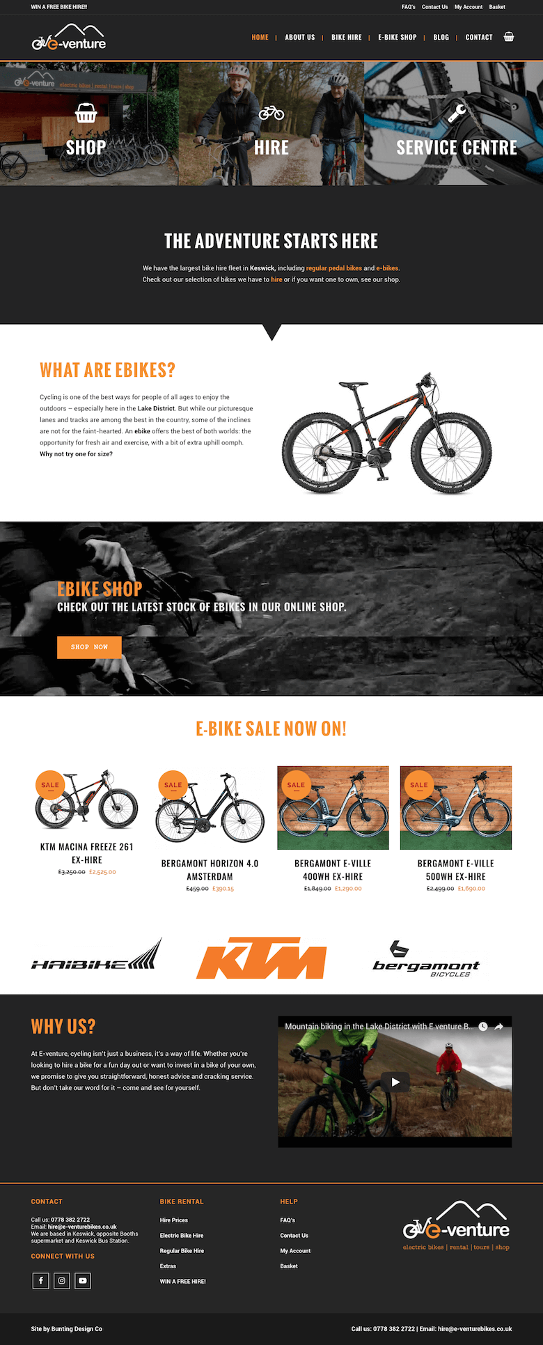 Bunting Design Co Web Development Design Website Design Inspiration Bunting Design
