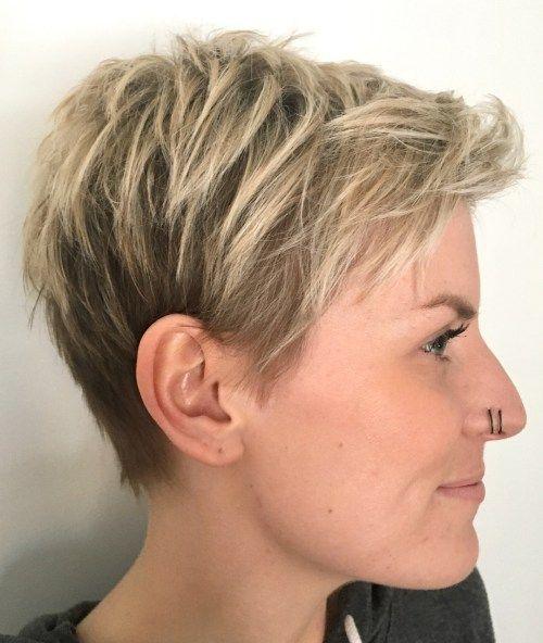 60 Cute Short Pixie Haircuts – Femininity and Prac