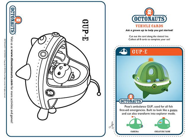 Gup E Octonauts Party Disney Junior Birthday Party Themes