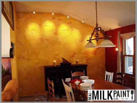 Real Milk Paint Walls