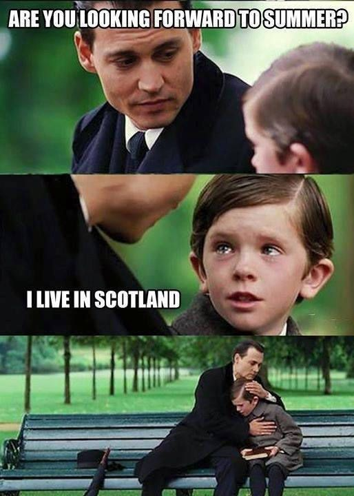 10 Hilarious Jokes About The Scottish Summer This Year It Was A