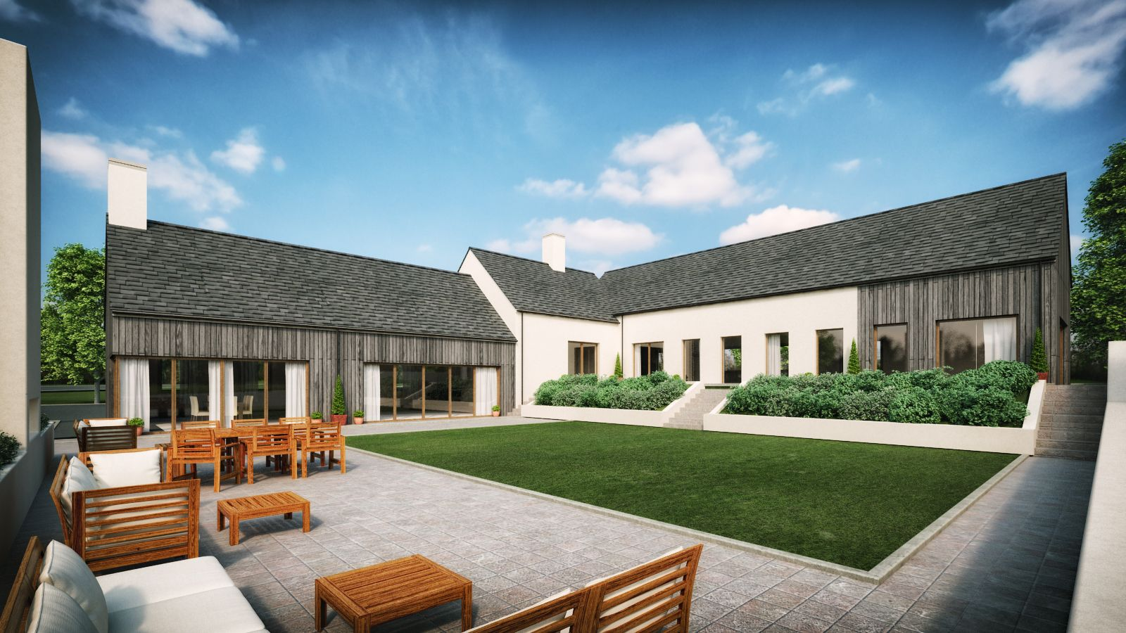 Modern Martinstown House Architects Slemish Design Studio
