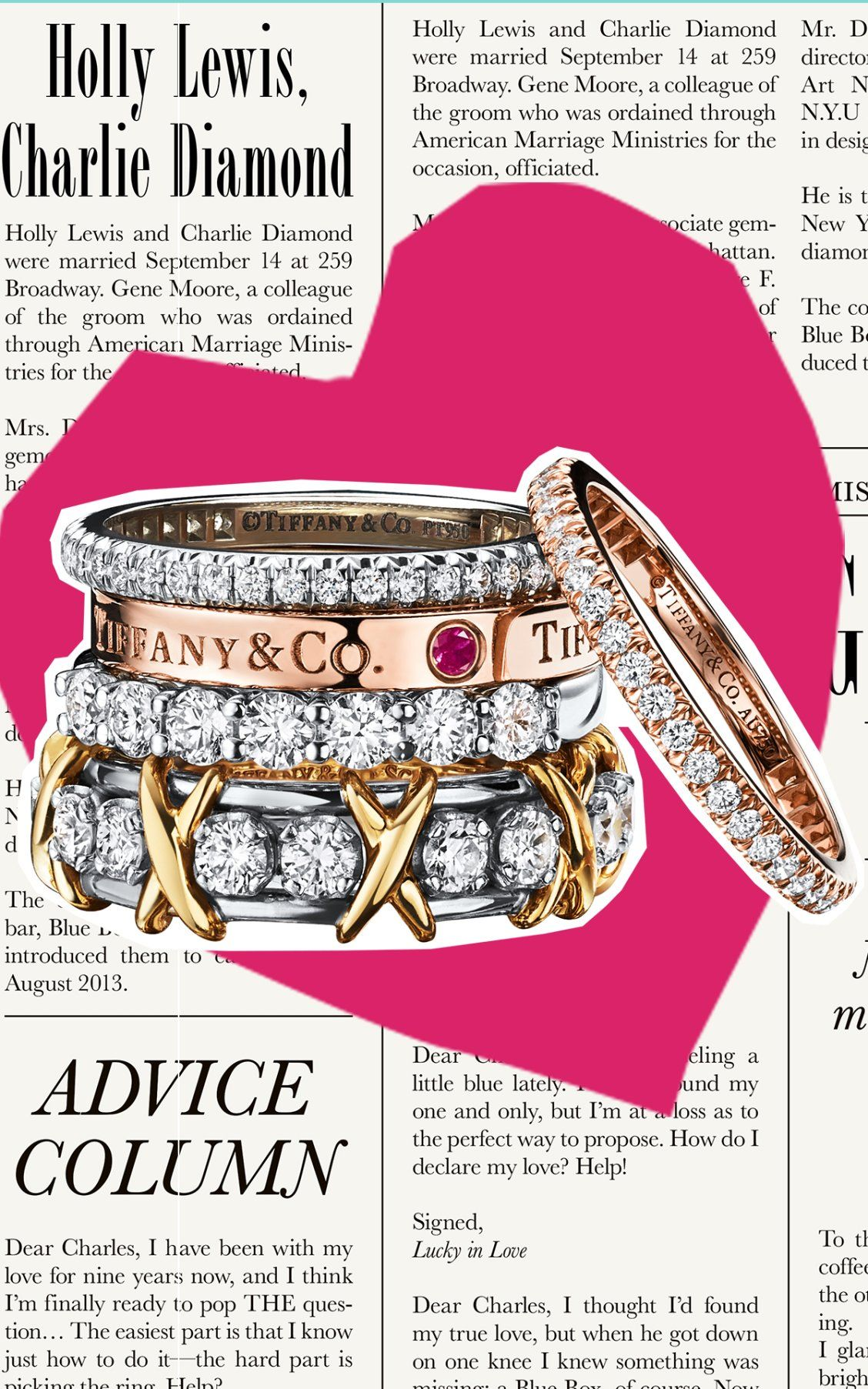 A ring for every reason with Tiffany Celebration® rings. | The ...