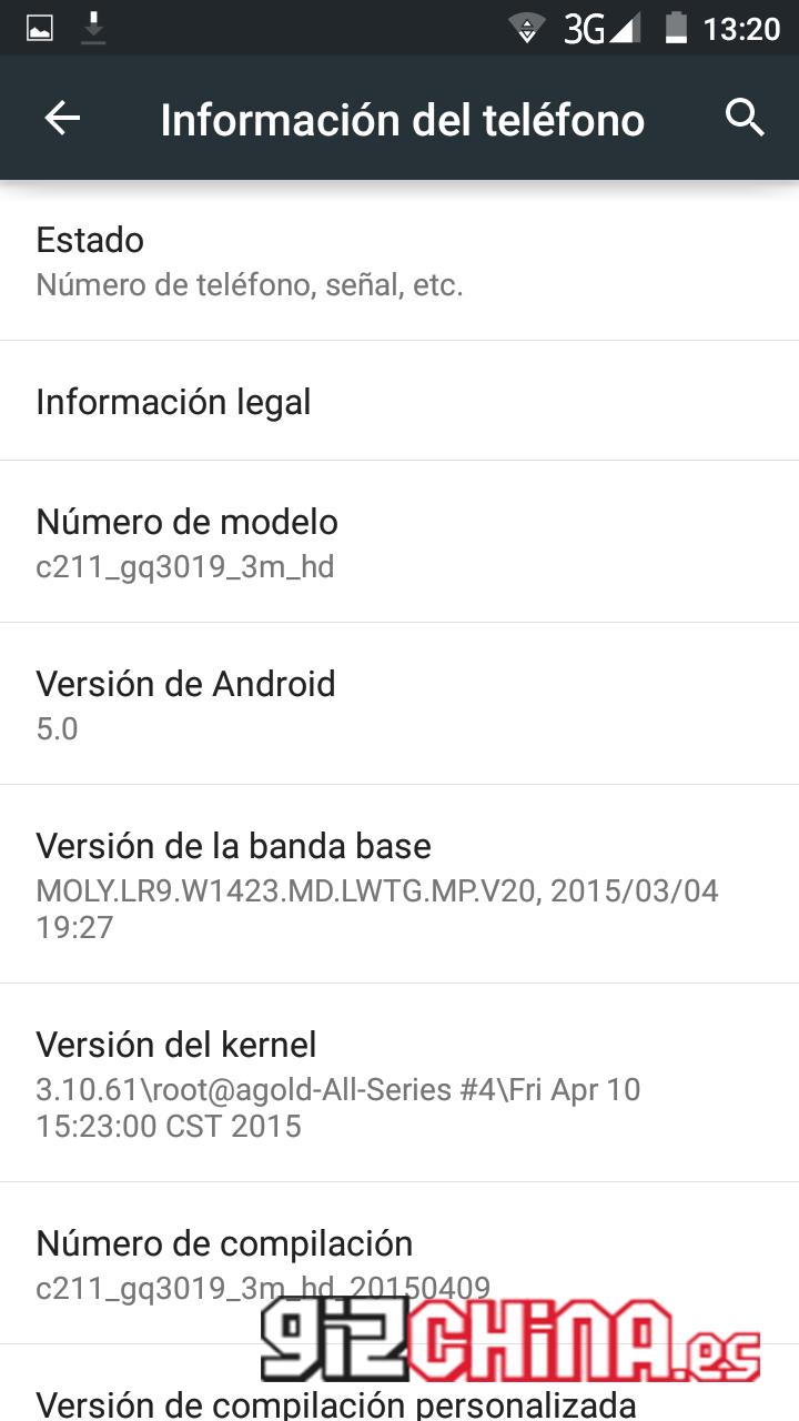 Novedad: Disponible la beta de Android 5.0 Lollipop para el uleFone Be Pro