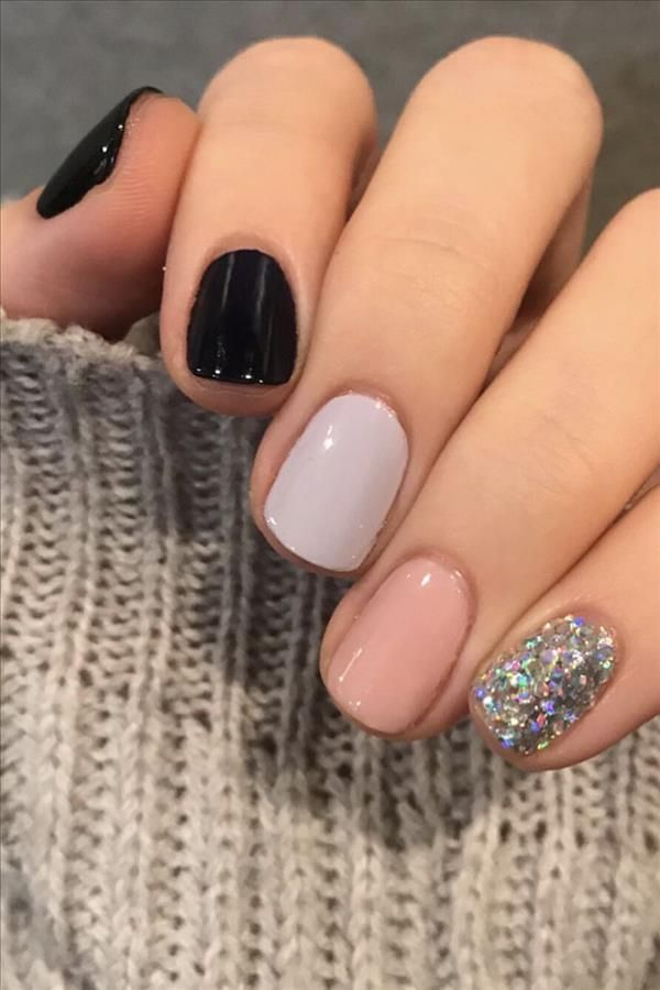 2020 some kinds of temperament short square nails - Fashion Girl'S Blog