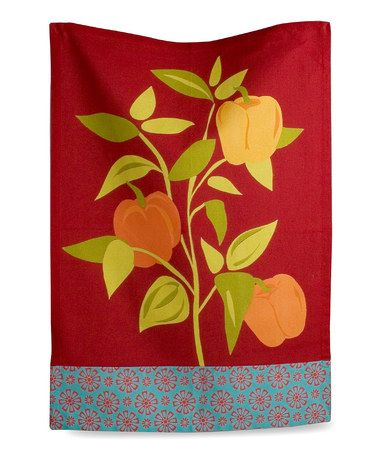 Take A Look At This Bell Pepper Jardin Dish Towel By Tag On