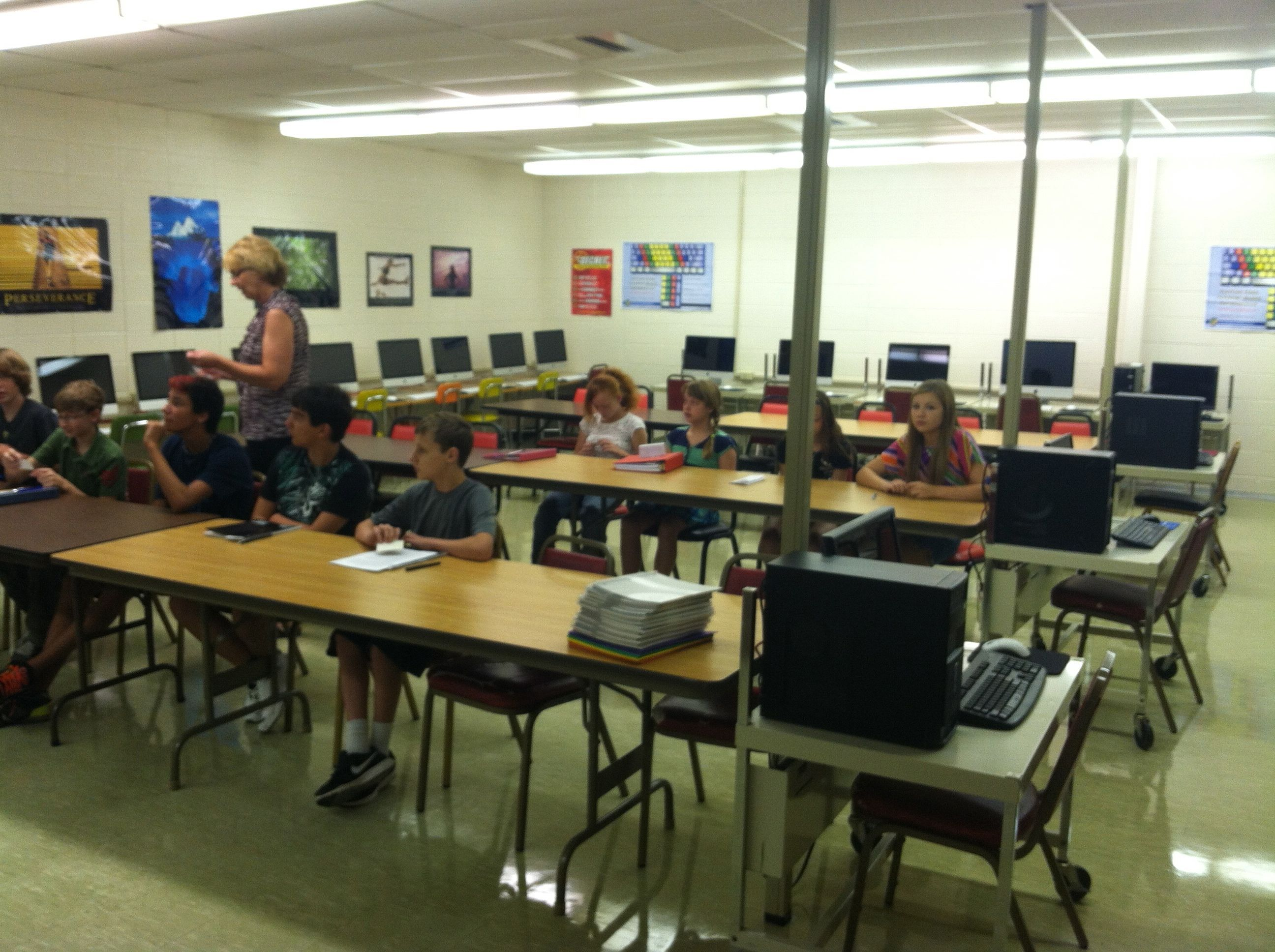 Middle School Computer Class With Images