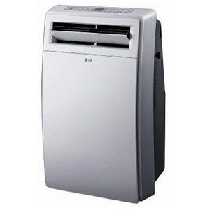 Lg Portable 12 000 Btu Air Conditioner And Dehumidifier Combo White Portable Air Conditioner Air Conditioner Btu Portable Air Conditioners