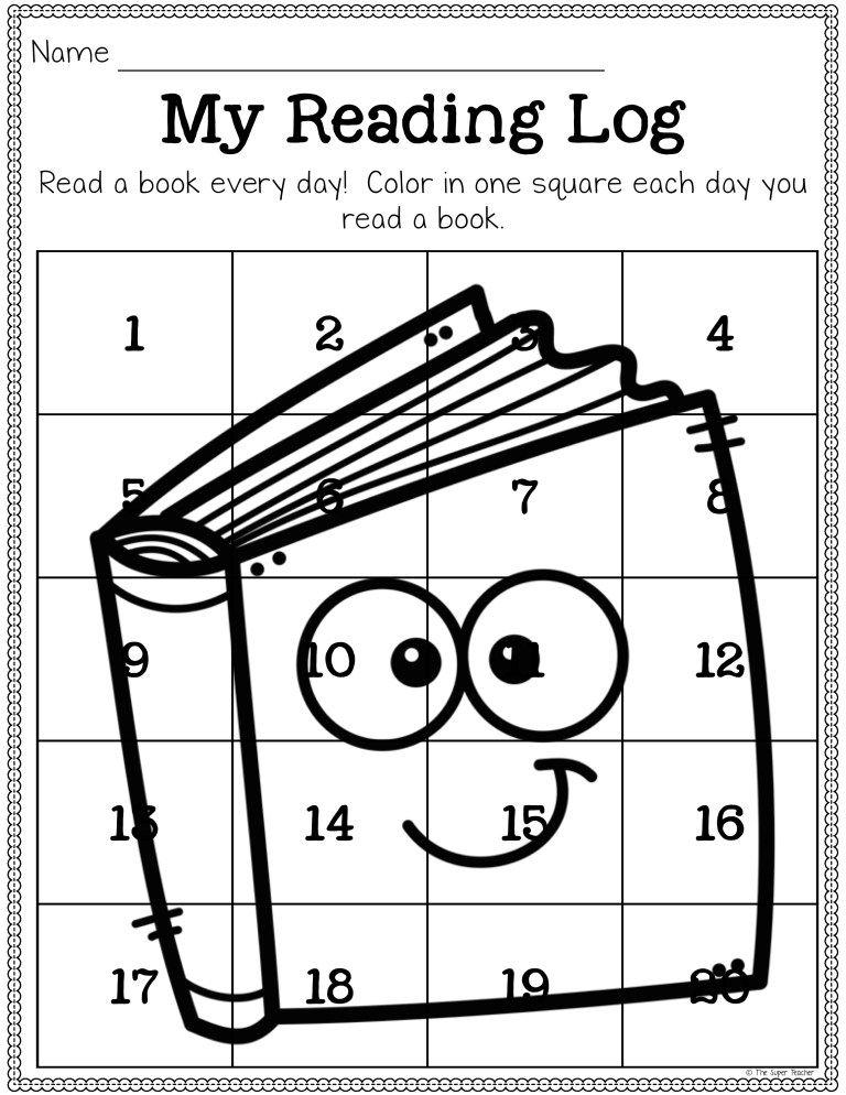 Free Reading Log Printable to Make Better Readers