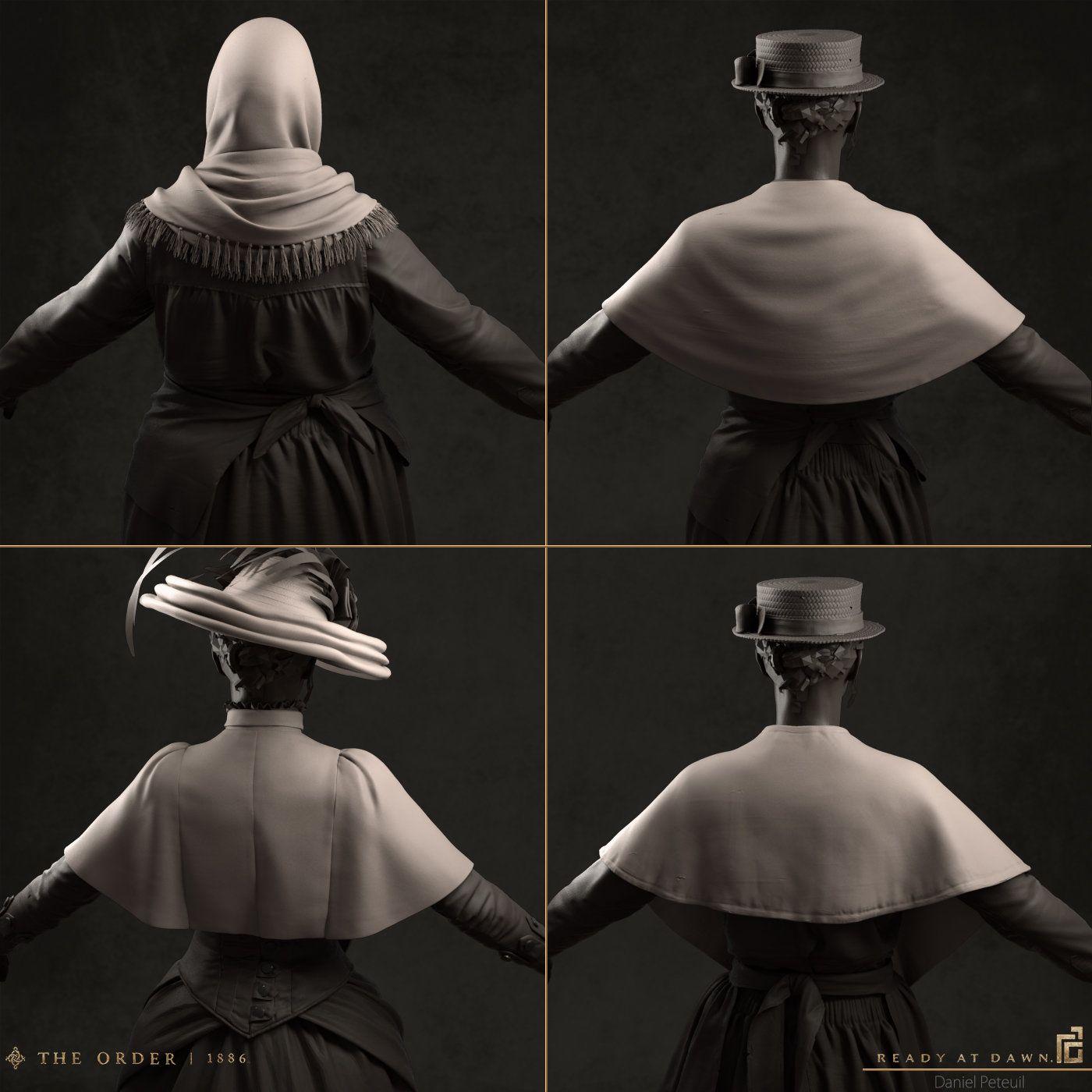 ArtStation - The Order: 1886 - Civilian Clothes, Daniel Peteuil