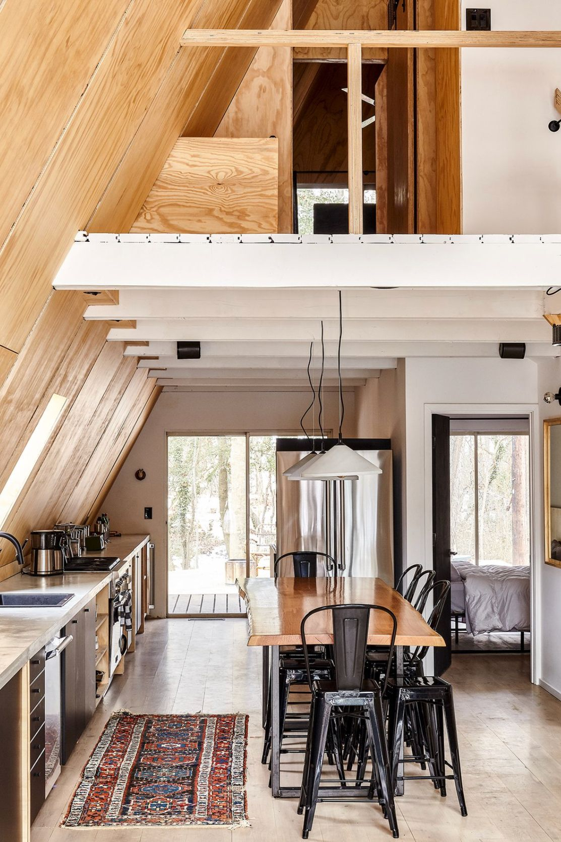 Summer House Interior Design Ideas From Berlin: Light And Airy Kitchen, Tons Of Light, Lots Of Counter Space