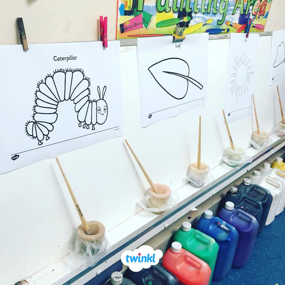Amazing Classroom Painting Area What Will Your Children