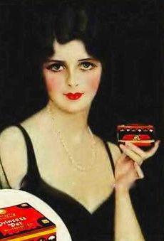 Princess Pat Powder Ad Detail Princess Pat Makeup 1920s - 1920s-makeup-ads