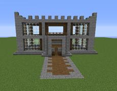 Medium Castle Minecraft Building Ideas Minecraft Blueprints Castle