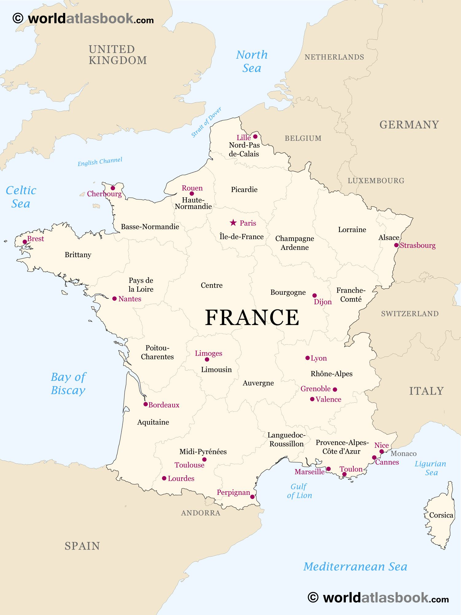 Map Of France With States.Printable Outline Maps For Kids Map Of France Outline Blank Map Of