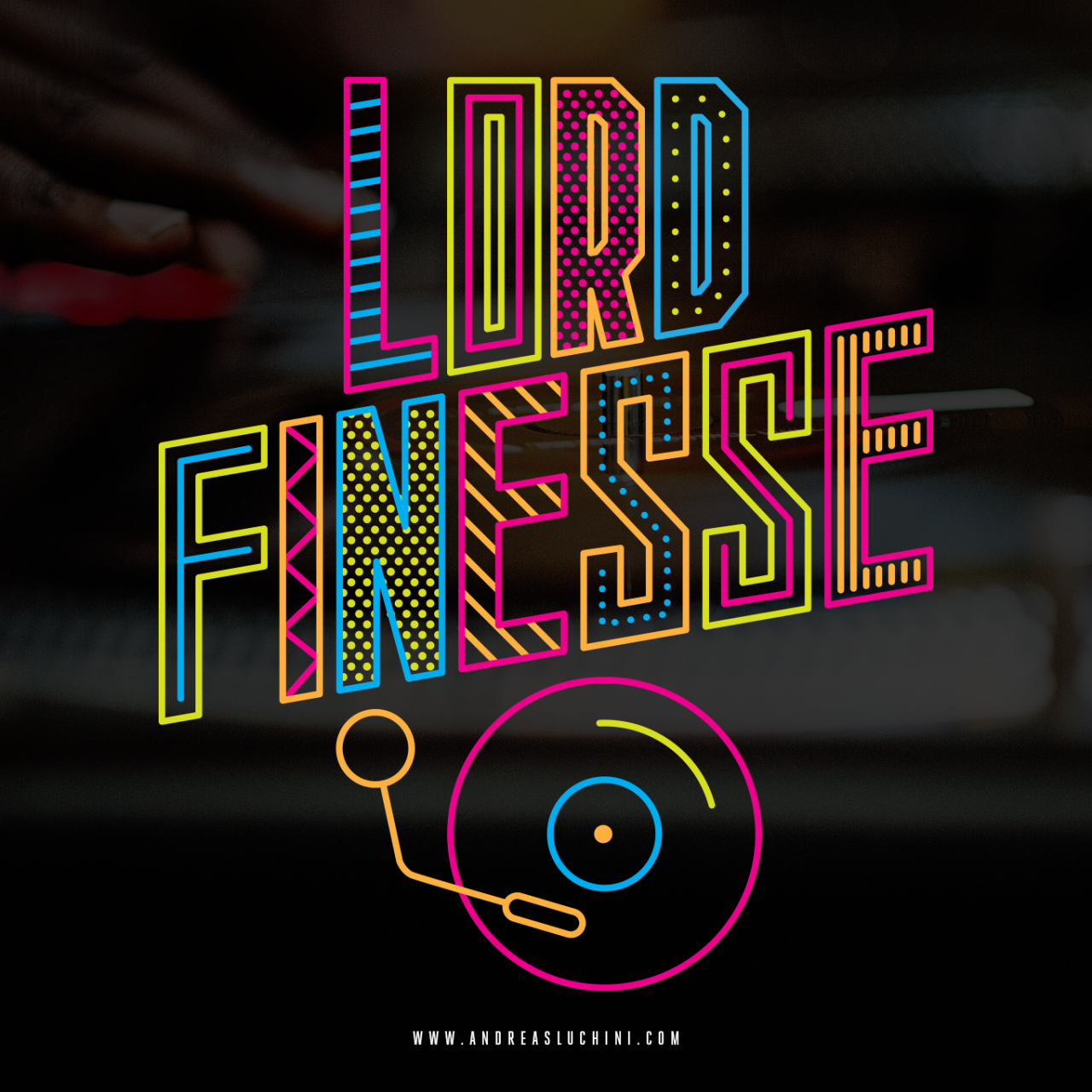 """Lord Finesse"" by Andreas Luchini www.andreasluchini.com"