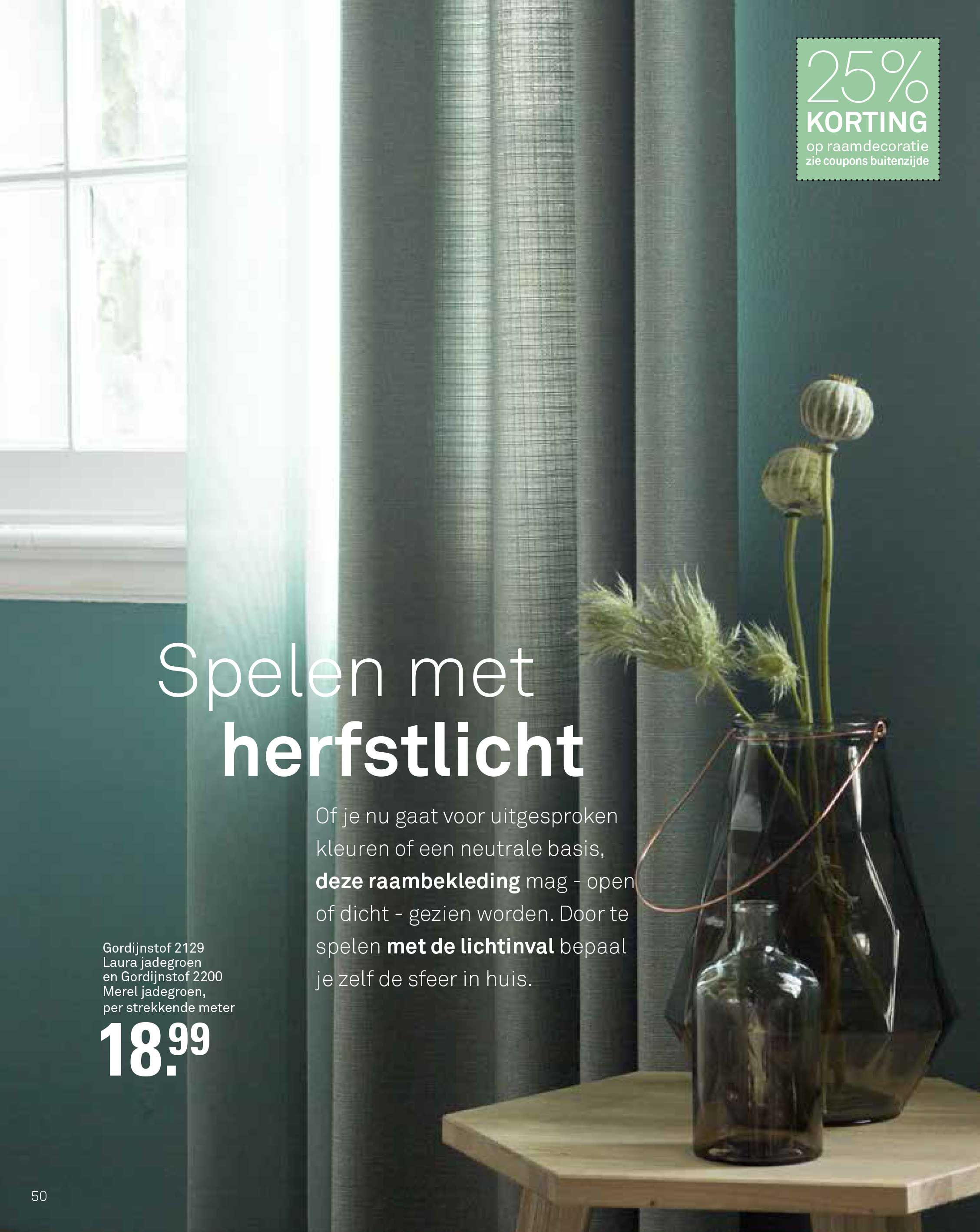 Karwei gordijnen groen inbetween | For the Home | Pinterest