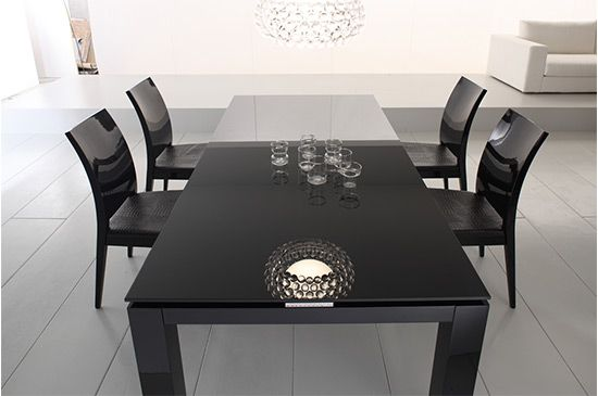 Life At Home Black Dining Room Sets Traditional Dining Tables Black Dining Room
