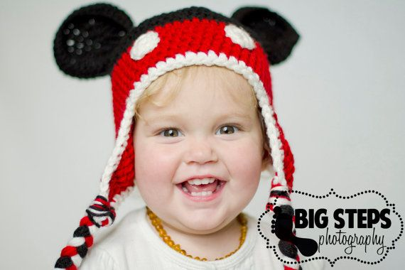 Mickey Mouse Hat 18-3T | Pinterest