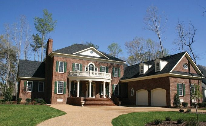 Southern Style House Plan 4 Beds 3 Baths 3946 Sq Ft Plan 137 195 House Plans Colonial House Plans House Plans And More