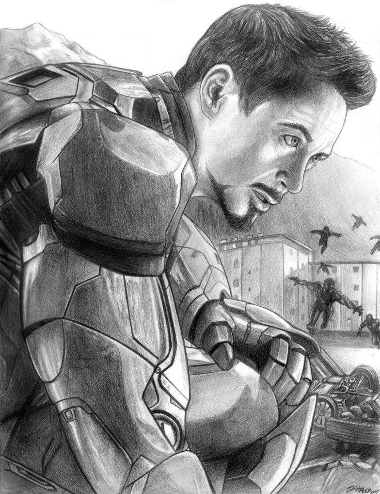 Tony Stark Iron Man Avengers Age Of Ultron By Soulstryder210